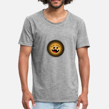 Keep Smiling Keep smiling - Men's Vintage T-Shirt