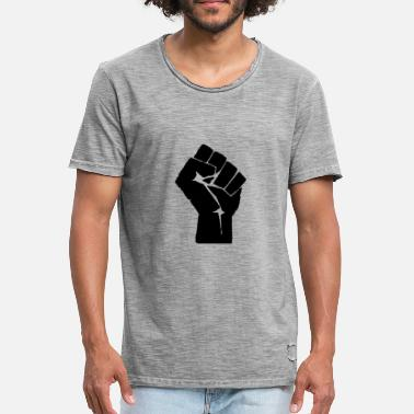 fist - Men's Vintage T-Shirt