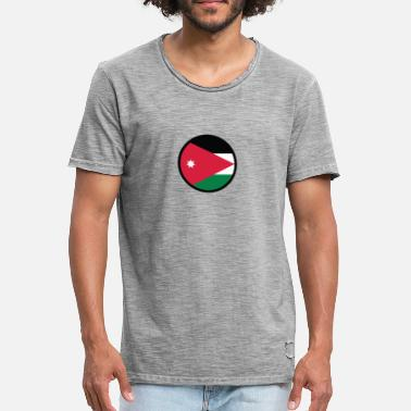 Jordan Palestinian National Flag Of Jordan - Men's Vintage T-Shirt