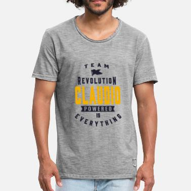 Claudio CLAUDIO - Men's Vintage T-Shirt
