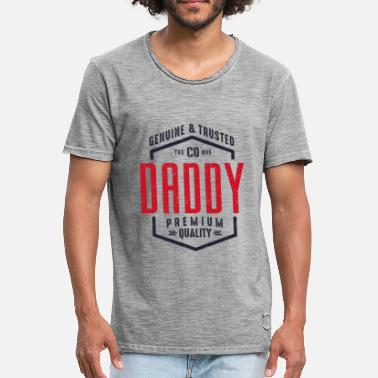 Daddy To Be DADDY - Men's Vintage T-Shirt