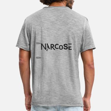 Narcose NARCOSE - T-shirt vintage Homme