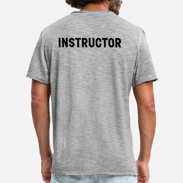 Instructor instruktör - Vintage-T-shirt herr