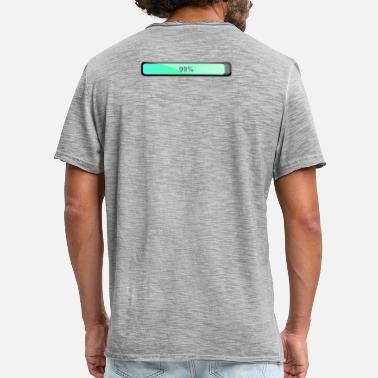 Battery Boost Battery Pack - Männer Vintage T-Shirt