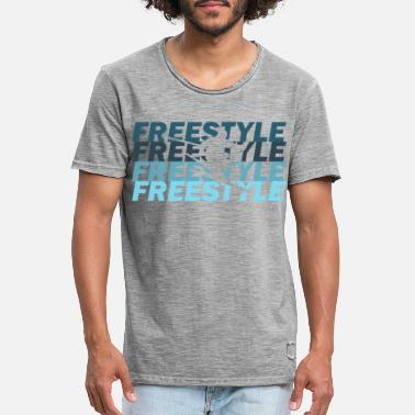 Freestyler Freestyle - T-shirt vintage Homme