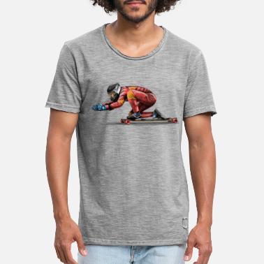 Longboard - Men's Vintage T-Shirt