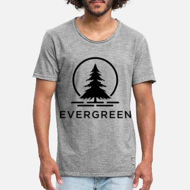 Evergreen Evergreen BK - Men's Vintage T-Shirt