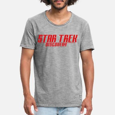Star Trek Discovery Logo - Men's Vintage T-Shirt