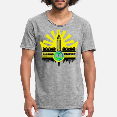 Building an Empire - Männer Vintage T-Shirt