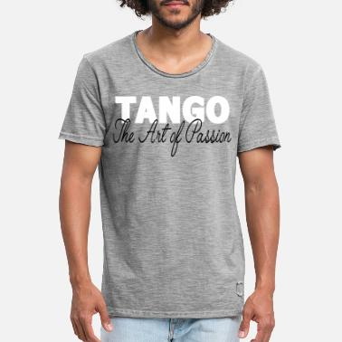 Tango - The Art of Passion - Dance Shirt - Vintage T-shirt mænd