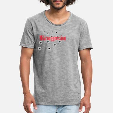 Aggression mikro aggression - Vintage T-shirt herr