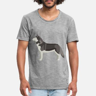Grey Wolf Grey Wolf - Men's Vintage T-Shirt