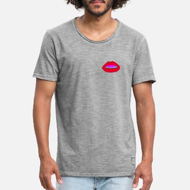 Juicy lips - Men's Vintage T-Shirt