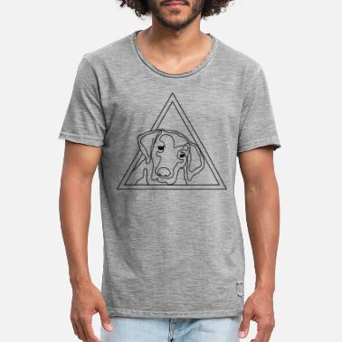Dog Head dog head - Men's Vintage T-Shirt