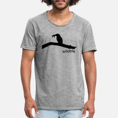 Conservation wildlife - Men's Vintage T-Shirt