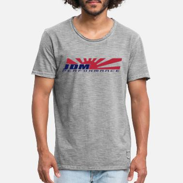 Jdm JDM PERFORMANCE Japan Rising Sun - Männer Vintage T-Shirt