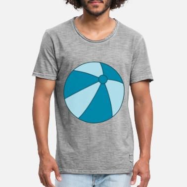 Beachball beachball - Vintage T-shirt mænd