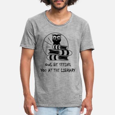 Library library - Men's Vintage T-Shirt