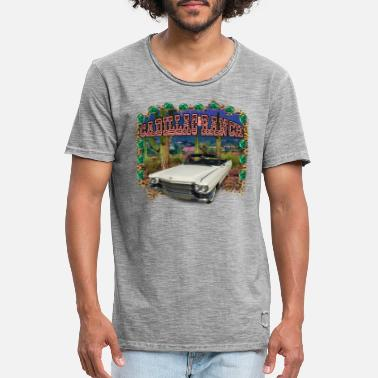 Ranch Cadillac Ranch - Mannen vintage T-shirt