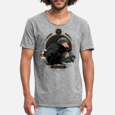 Baby Niffler Fantastic Beasts Nifflers - Mannen vintage T-shirt