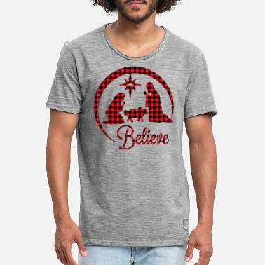Believer Believe - Men's Vintage T-Shirt