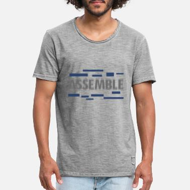 Assembled Assemble - Men's Vintage T-Shirt