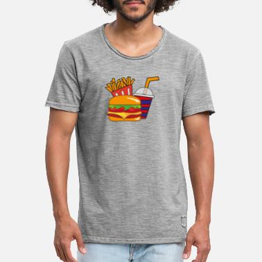 Menu Burger menu - Men's Vintage T-Shirt