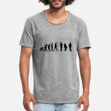 Conference Evolution conference and meeting in the office - Men's Vintage T-Shirt