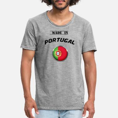 Southern Europe PORTUGAL PORTUGUESA MADE IN PORTUGUESE T-SHIRT - Men's Vintage T-Shirt