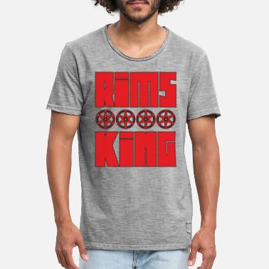 Rim Rims King - Tuner King of Rims - Men's Vintage T-Shirt