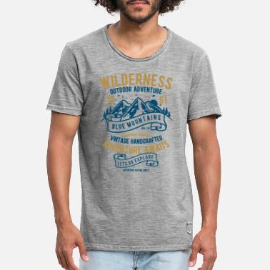 Wilderness Wilderness - Men's Vintage T-Shirt