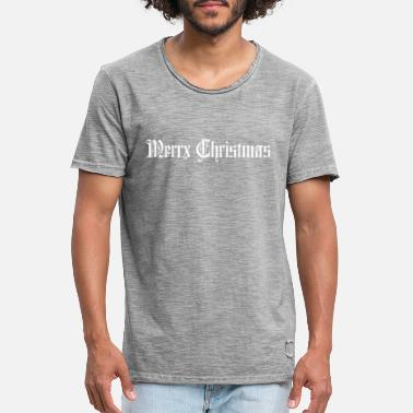Greenboy Merry Christmas - Men's Vintage T-Shirt
