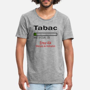 Tabac tabac - T-shirt vintage Homme