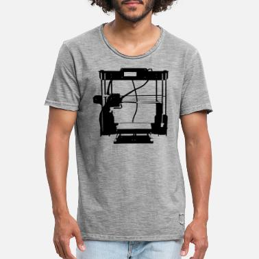 3d 3D printer - AnetA8 - T-shirt vintage Homme
