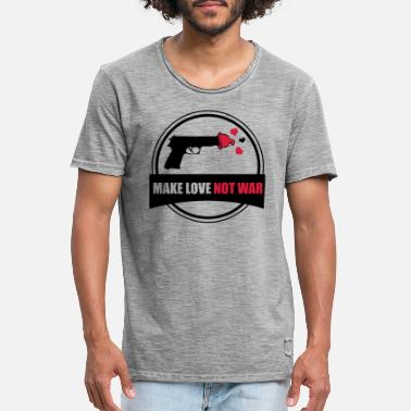 Make Love Not War make love not war - Men's Vintage T-Shirt