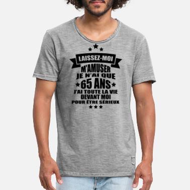 Vêtements Et Accessoires 65th Anniversaire Cadeau Idées Pour