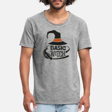 Witching Hour Basic Witch - Men's Vintage T-Shirt
