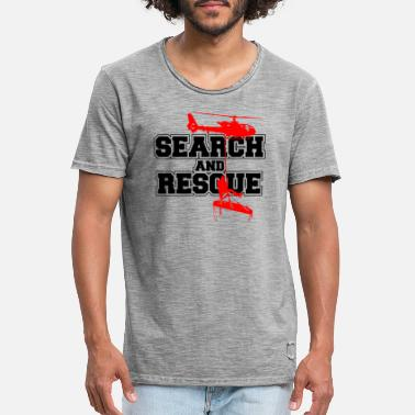 Search SERACH RESCUE t-shirt t-shirt sweatshirt - Men's Vintage T-Shirt