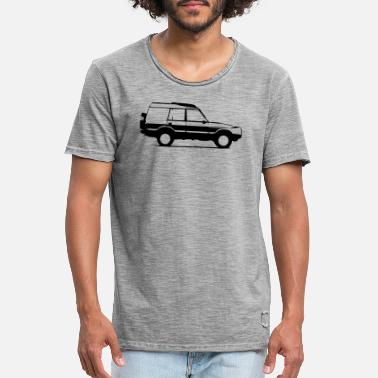 Land discovery - Men's Vintage T-Shirt