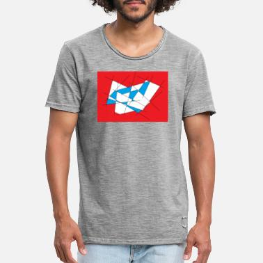 Red White And Blue Red-white-blue - Men's Vintage T-Shirt