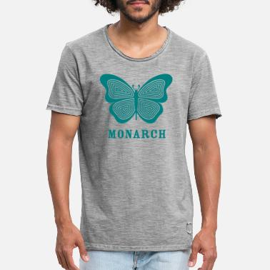 monarch MK ultra - T-shirt vintage Homme