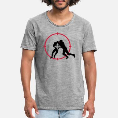 Us US Football - Mannen vintage T-shirt