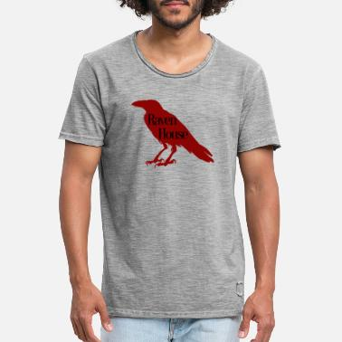 Raven House Raven - Men's Vintage T-Shirt
