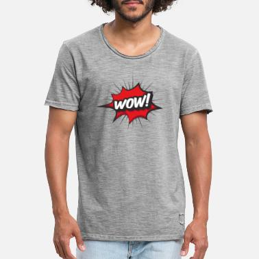 Wow WOW wow! - Men's Vintage T-Shirt