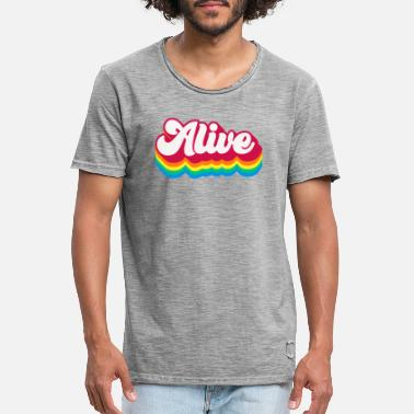 Alive - Men's Vintage T-Shirt