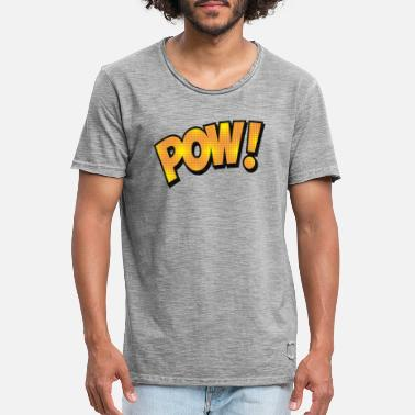 Superhero shirt comic style - Men's Vintage T-Shirt