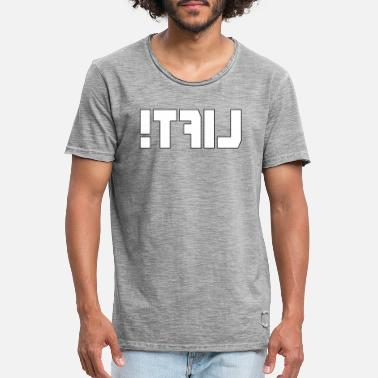 Lift for training in front of a mirror - Vintage T-shirt mænd