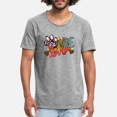 I Love Mutter Mutts Be Love - Vintage T-shirt mænd