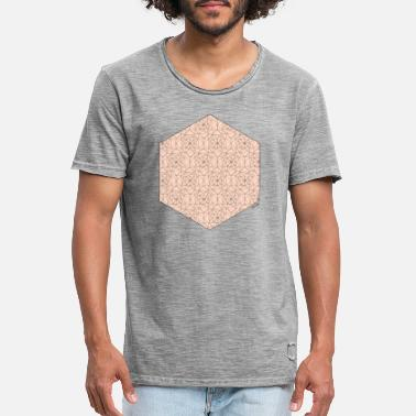 Animo Hexagone rouge - T-shirt vintage Homme