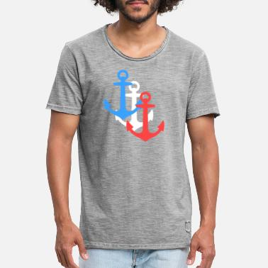 anchor - Men's Vintage T-Shirt